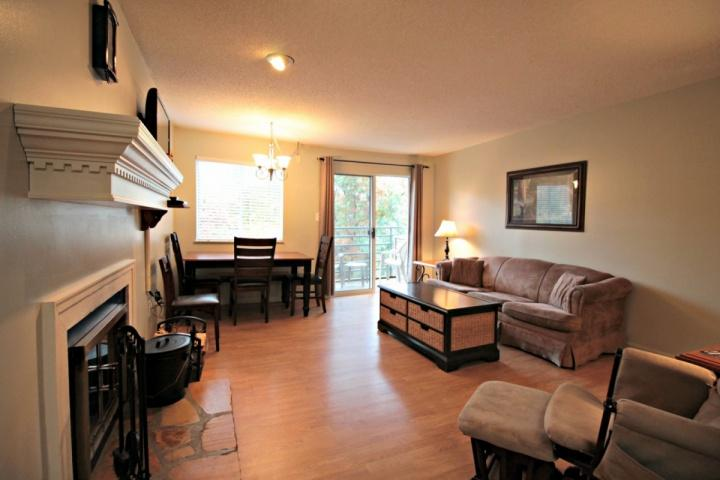 Open Area Living Room and Dining - The Summit #3205 ~ Book for Fall in the Smokies! - Gatlinburg - rentals