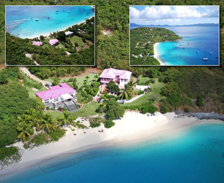 The Pink House - Image 1 - Jost Van Dyke - rentals