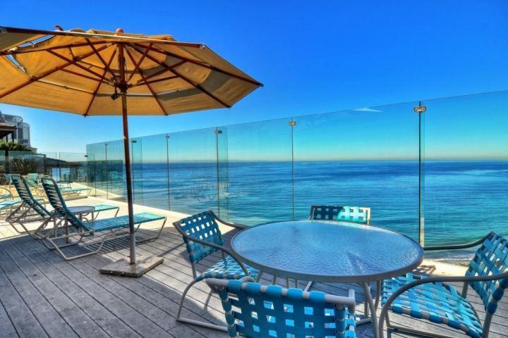 Ocean view deck in front of condo - Dana Point Luxury Oceanfront Condo - Dana Point - rentals