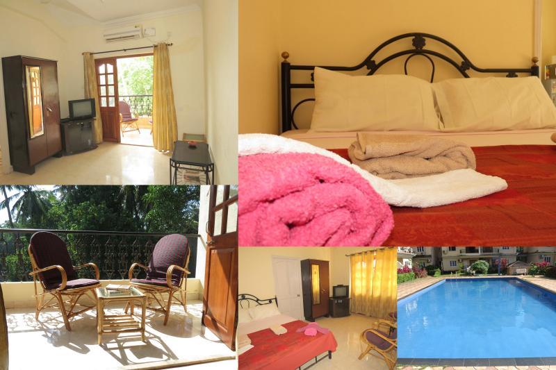 38) Studio Apartment Central Calangute - Image 1 - Calangute - rentals