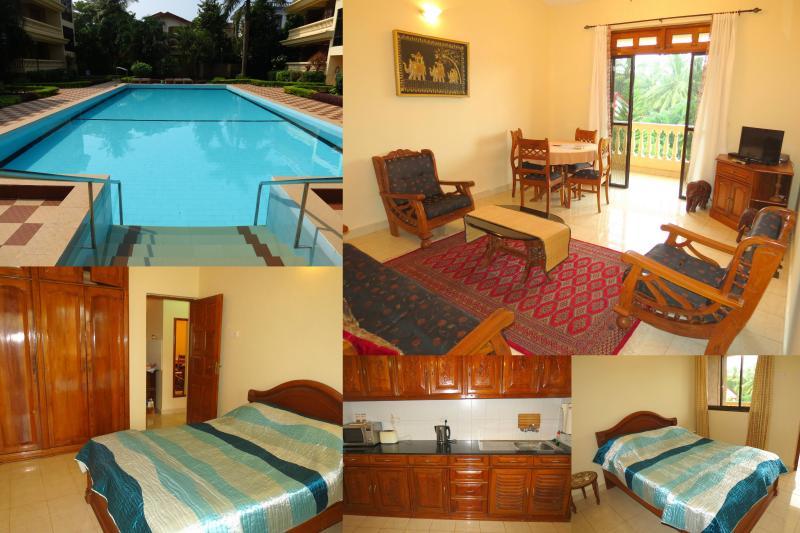 18) 2 Bedr Apartment Regal Palms Candolim & WiFi - Image 1 - Candolim - rentals