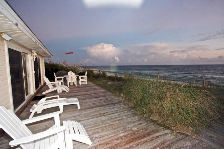 It doesn't get any better than this! - Fine View - Gulf Front Family Beach Home - Heart of Seacrest Beach - Seacrest Beach - rentals