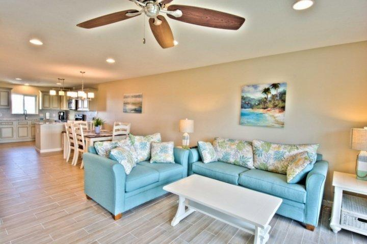 Welcome to Sea Bluff #12, a stunning Gulf front condominium located on the beautiful Emerald Coast! - Seabluff #12 - Relax 30A Style! Steps to Sugar Beaches!  WIFI - Community Pool - Santa Rosa Beach - rentals