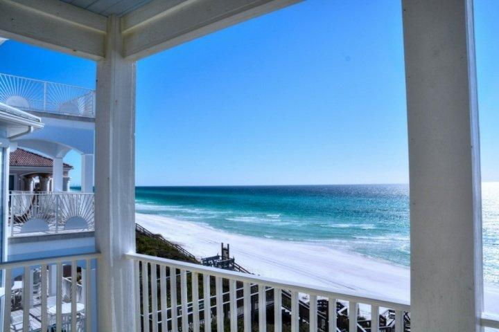 Dreams Come True view of the Gulf of Mexico from 2nd floor balcony. - Dreams Come True - Gulf Front Luxury Living! - Amazing Views! - Seacrest Beach - Seacrest - rentals