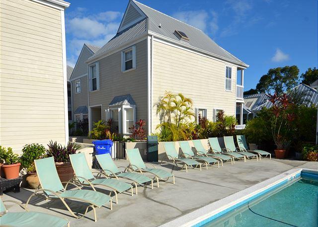 Casa Cubana- Luxurious Condo w/ Pvt Parking & Shared Pool - Image 1 - Key West - rentals
