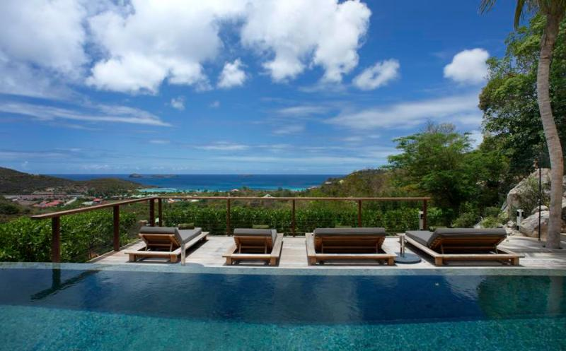 Contemporary Private Villa, Ocean Views, Heated Pool, Ideal for Families & Couples - Image 1 - Gustavia - rentals