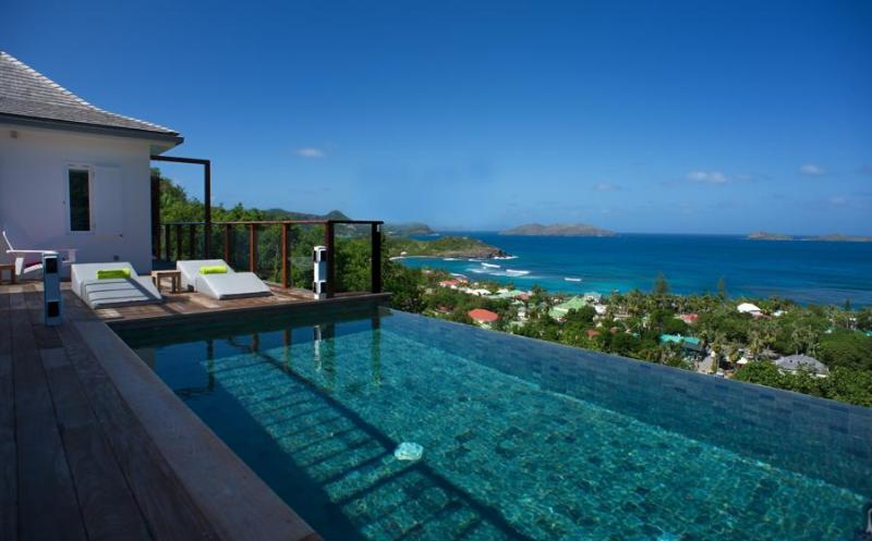 Aurea - Ideal for Couples and Families, Beautiful Pool and Beach - Image 1 - Saint Barthelemy - rentals