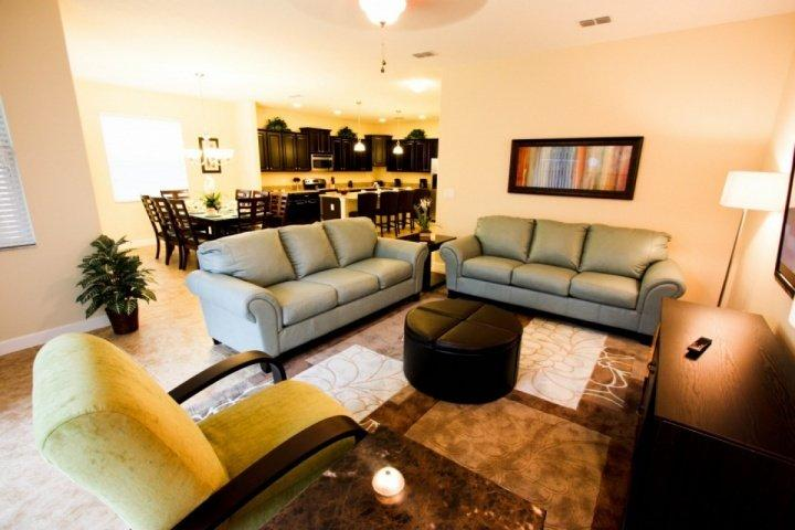 Comfortable Furniture, Flat Screen TV, Pool Access - Paradise Villa, near Disney, with Sauna and Hot Tub - Kissimmee - rentals