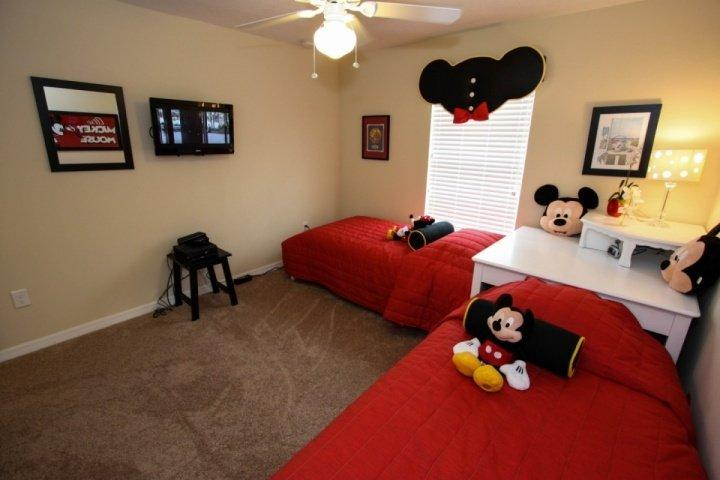 Wall mounted TV, Xbox - Beautiful Paradise Palms Villa with Sauna and Pool - Kissimmee - rentals
