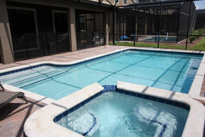 Large pool with spa - 1475 Champions Gate - Davenport - rentals