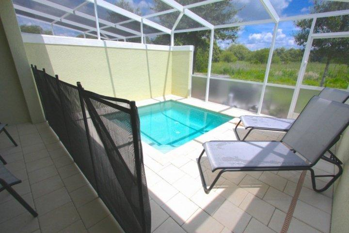 Private pool with safety fence - 17517 Dream - Clermont - rentals