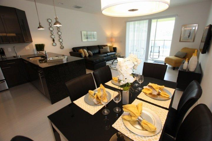 Open dining and living areas - 17517 Dream - Clermont - rentals