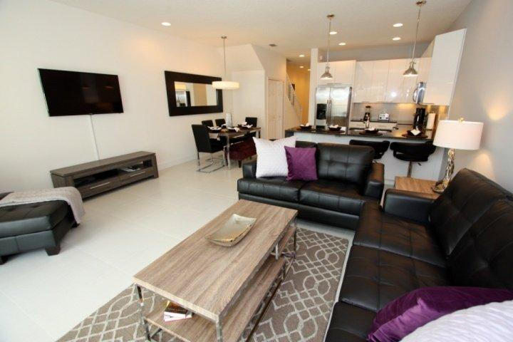 Downstairs living area - 17508 Dream - Clermont - rentals