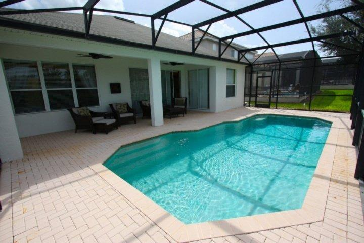Enjoy this large pool right in your very own back yard! - 7741 Windsor Hills - Kissimmee - rentals