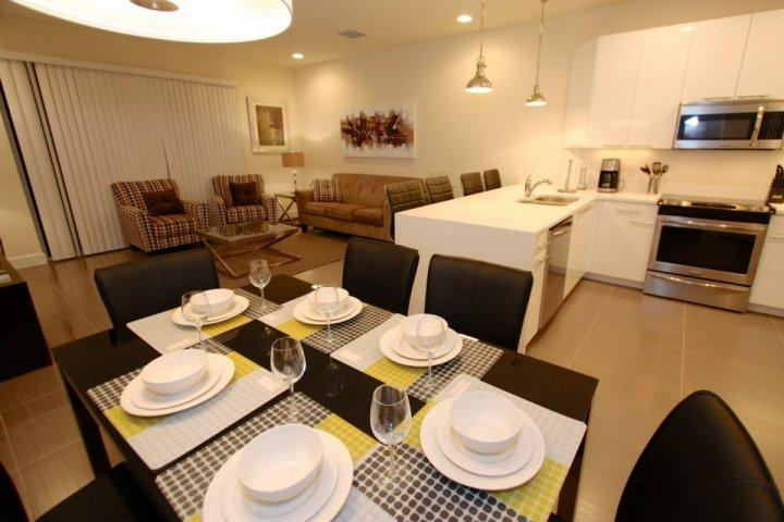 Open dining and living areas - 17401 Dream - Clermont - rentals