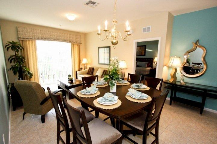 Dining Area for Four (4) - 7664 Windsor Hills - Kissimmee - rentals