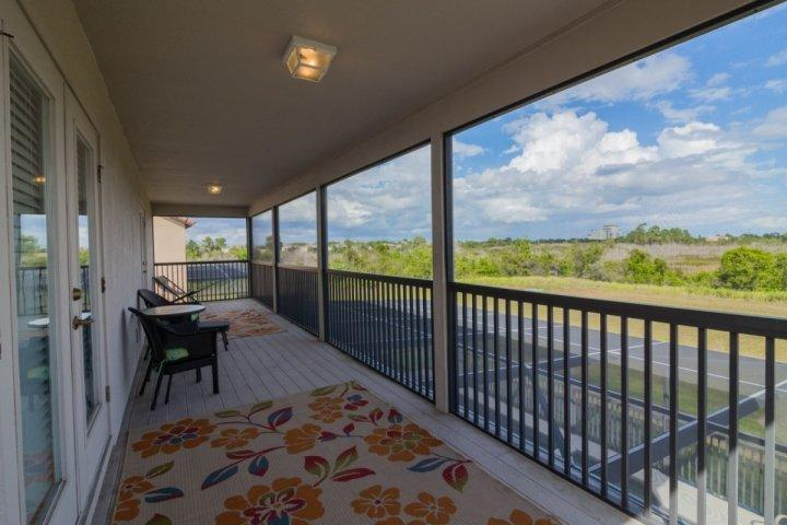Upstairs Shared Balcony w/Access From Two Master Suites - 934 West Haven - Davenport - rentals