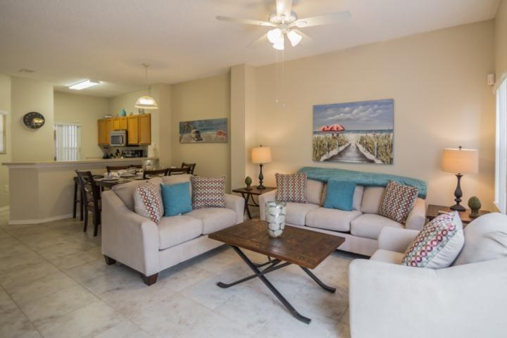Open Floor Plan - Living, Dining Room & Kitchen - 4743 Terra Verde - Kissimmee - rentals
