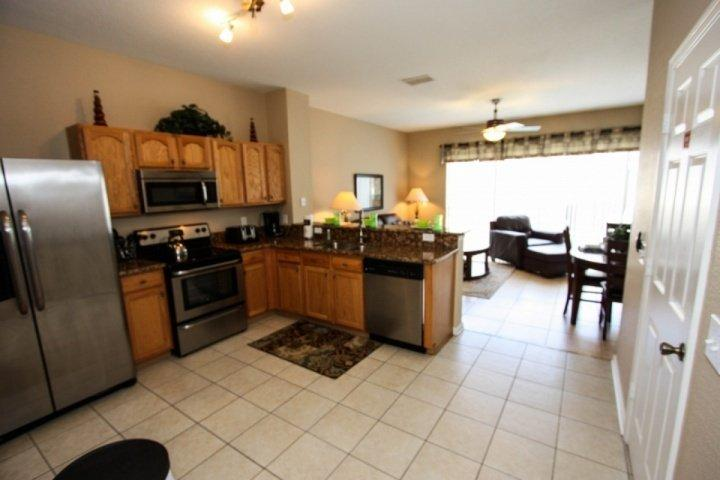 Fully stocked kitchen - 7669 Windsor Hills - Kissimmee - rentals