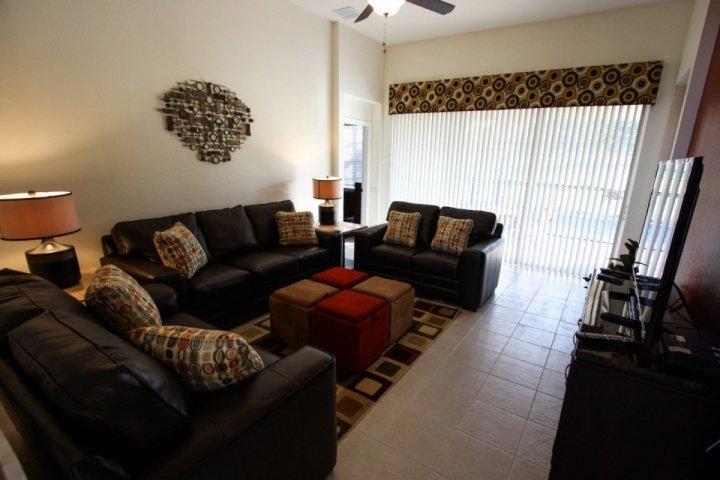 Comfortable living area - 2624 Windsor Hills - Kissimmee - rentals