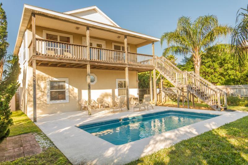 Beach Havens Pool! - Beach Haven - Heated Pool -  Only Steps to Beach! - Saint Augustine Beach - rentals