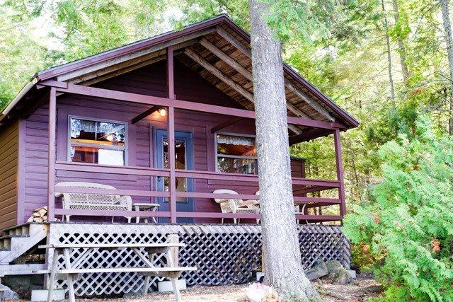 Sandy Bay Cabin only a few steps from Moosehead Lake - #141 Moosehead Lake is just outside the front door! - Greenville - rentals