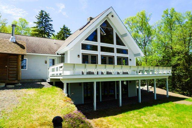 Luxurious home on Moosehead Lake  - #102 Luxurious new chalet-style home on Moosehead Lake with large stone fireplace & beautiful views! - Greenville - rentals
