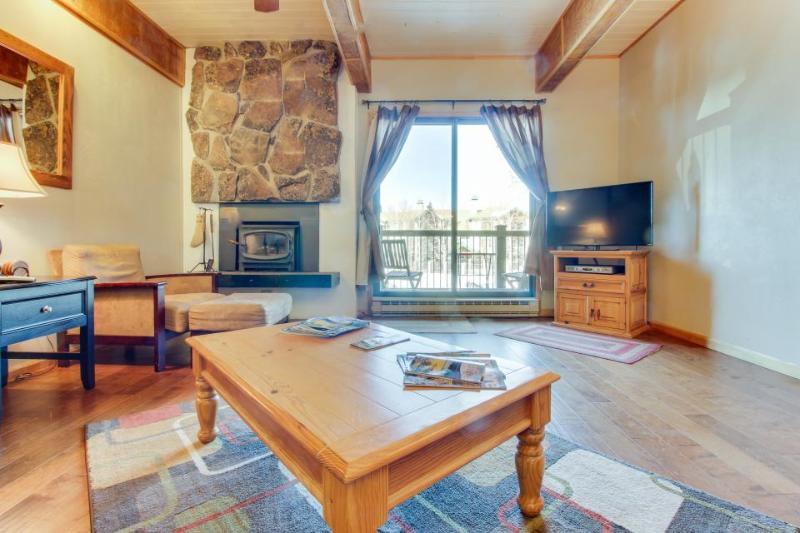 Ski-in/Ski-Out, Outdoor Pool, Hot Tub, Tennis, Sauna, & Gym - Image 1 - Steamboat Springs - rentals