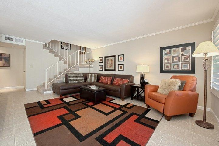 Living Room - Steps from El Paseo -- Location! Style! Amenities!  South Exposure - Palm Desert - rentals