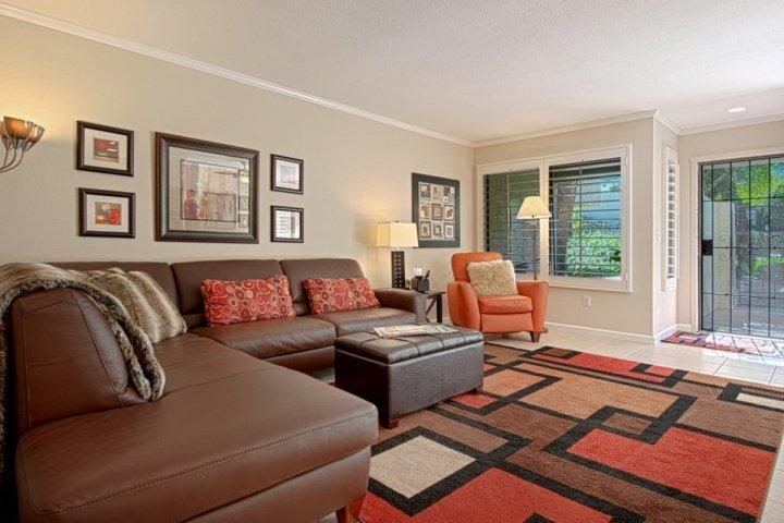 Living Room - SPRING & SUMMER DISCOUNTS!!! Steps from El Paseo -- Location! Style! Amenities - Palm Desert - rentals