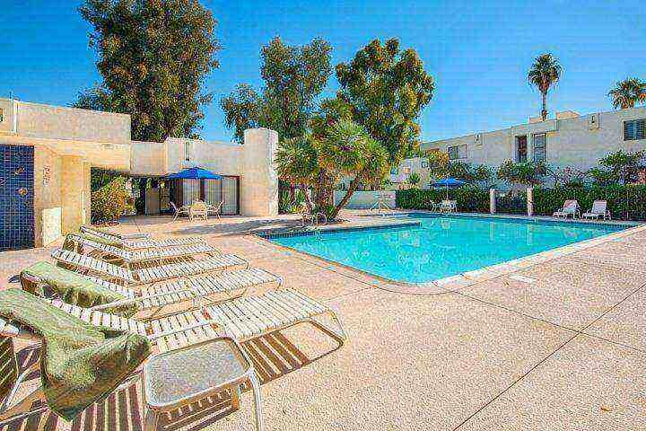 Main Swimming Pool, Spa, Clubhouse & Laundry - Steps from El Paseo -- Location! Style! Amenities!  Washer/Dryer - Palm Desert - rentals