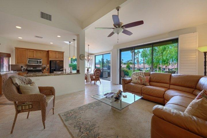Fantastic newly remodeled living/dining/kitchen areas! - Fantastic Fairway Views on Championship #16 -- Palm Valley Country Club - Palm Desert - rentals
