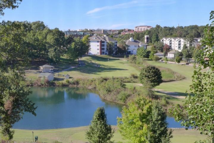 View from Your Sun Room - Champions at 1000 Hills Ground Floor 2BDR Condo - Branson - rentals