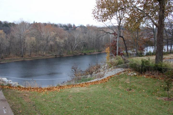 Lake Taneycomo view from back deck - Fall Creek 4BDR Condo (42, 9&10) - Branson - rentals