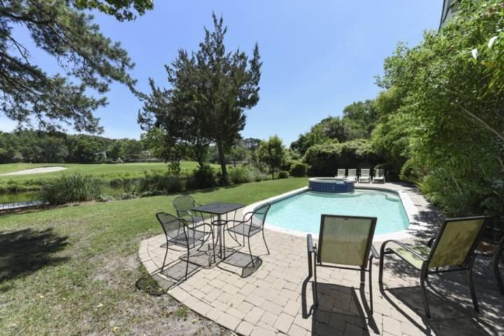 Sit and Relax, or Soak and Swim - The choice is yours. - Decorator Home with 2 Masters,  Golf & Lagoon views - 10 Minute Walk to Ocean - Hilton Head - rentals