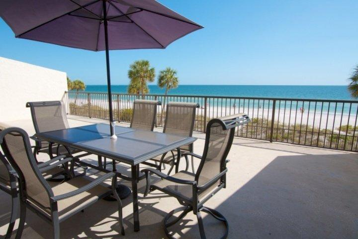 Extra Large Beachfront Balcony - 1-306 - Ocean Sands - Madeira Beach - rentals