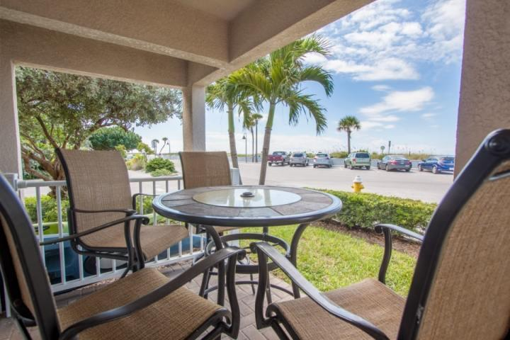 First floor corner unit with an outdoor patio just across the street to the beach - 1 - Beach Club At Pass-A-Grille - Saint Pete Beach - rentals