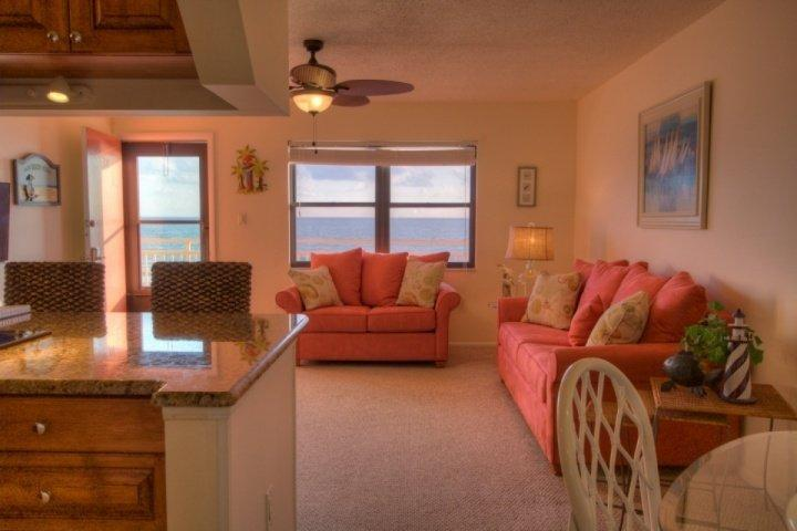 New living room.  New kitchen.  Outstanding Views! - 311 - Sunset Chateau - Treasure Island - rentals