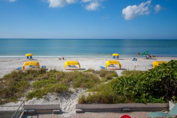 Beachfront View from Upper Level Balcony - Yoda Beach House - Madeira Beach - rentals