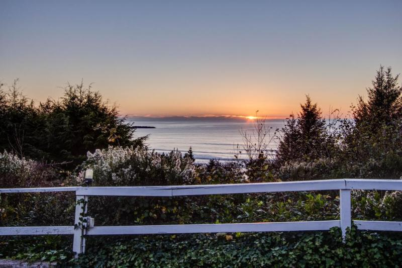 Cozy, oceanfront home w/ stunning ocean views, nearby beach access - dogs ok! - Image 1 - Otter Rock - rentals