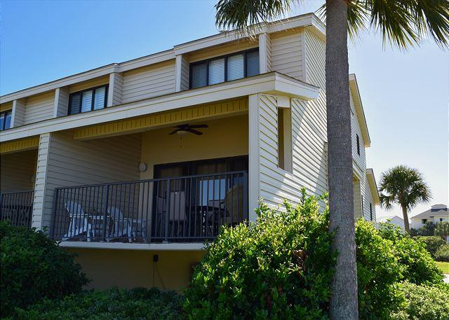 This corner unit has two levels of living space and is close to the waters of the sound. - Santa Rosa Dunes #615 - Pensacola Beach - rentals