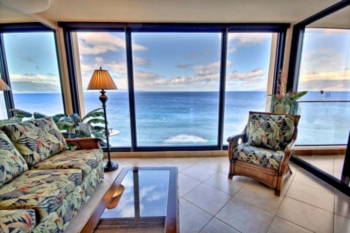 Oceanfront Mahana one bedroom with amazing ocean views! - Image 1 - Ka'anapali - rentals