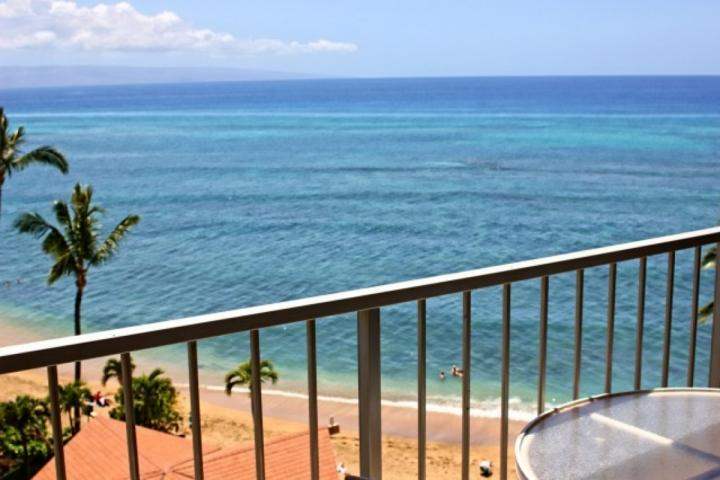 Ideal whale watching in the winter months while relaxing on your private lanai. - Great Views - Royal Kahana 7th Floor Ocean View 1 bedroom / 1 bath - Kahana - rentals