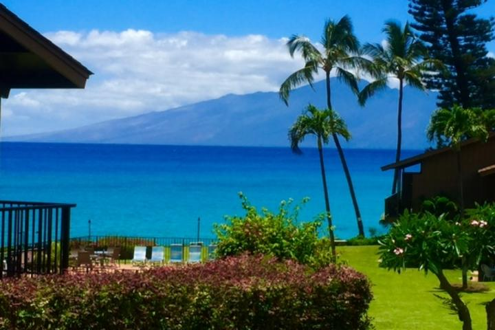 Stunning ocean and the island of Molokai views - Polynesian Shores 1 bedroom / 1 bath - Kaanapali - rentals