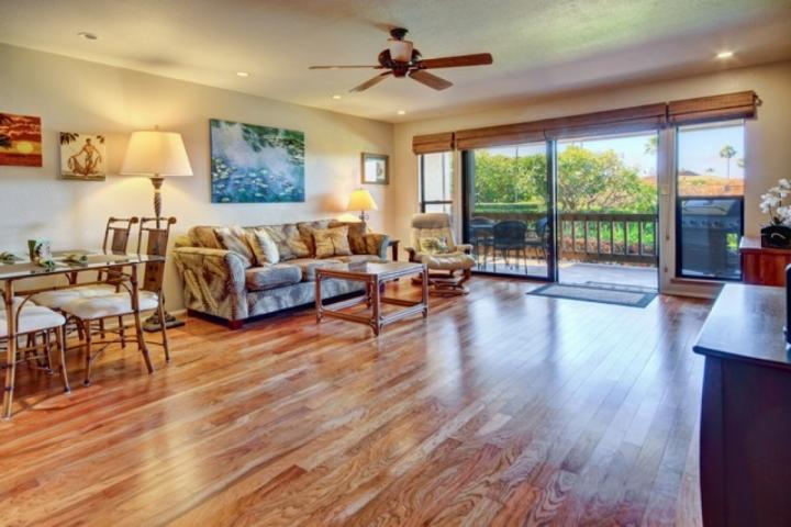 Spacious living space and beautiful hardwood floors throughout. - Kaanapali Plantation ugraded 2 bed / 2 bath - Ka'anapali - rentals