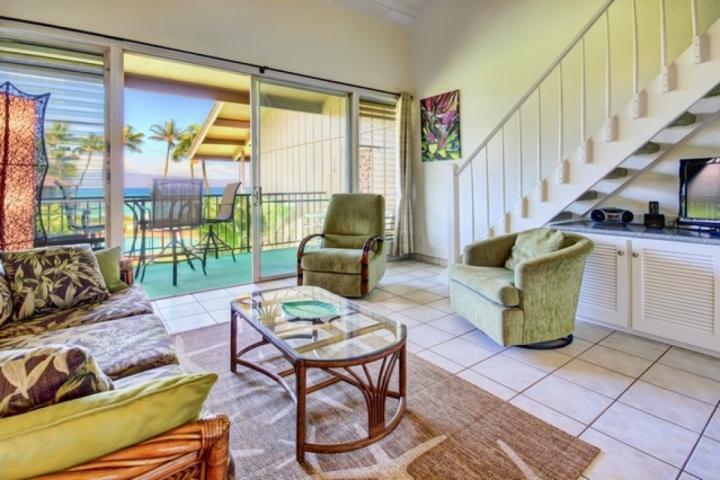 Amazing views from this Two Bedroom / Two Bath Oceanfront Condominium - Image 1 - Napili-Honokowai - rentals