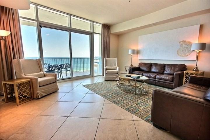Spacious Living Area - Turquoise Place D-0706 - Orange Beach - rentals