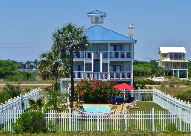 'When Pigs Fly' Beachview w/Private Pool - Image 1 - Gulf Shores - rentals