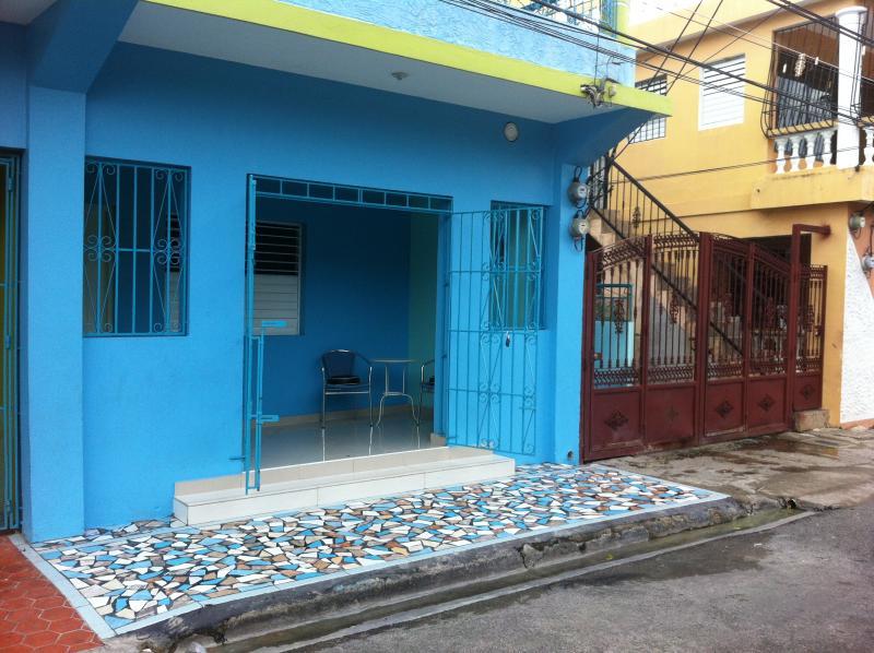Casa Azul entrance apartamento - Casa Azul Loft Apartment - Puerto Plata - rentals
