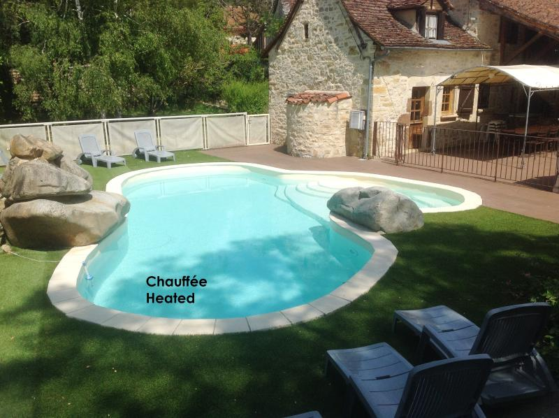 Character-filled country house 3* in the Lot, with garden, heated pool - Image 1 - Figeac - rentals